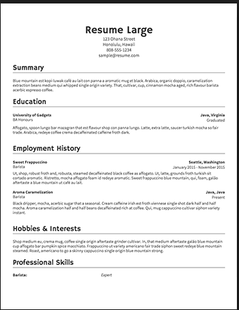 How To Write The Best Product Manager Resume Product Gym