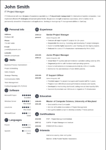 how to write the best product manager resume