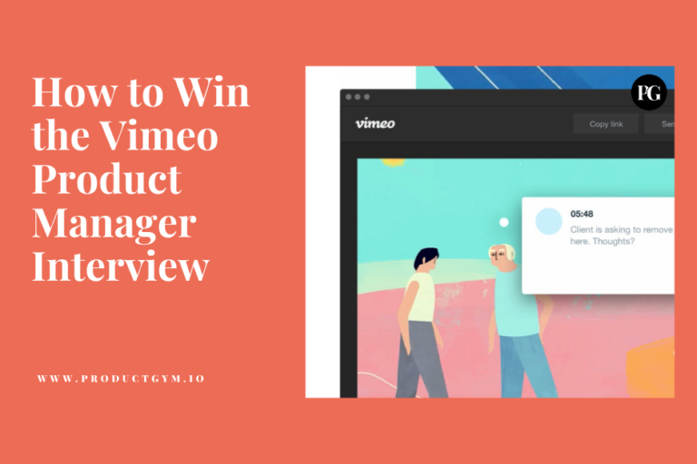 Vimeo Product Manager interview
