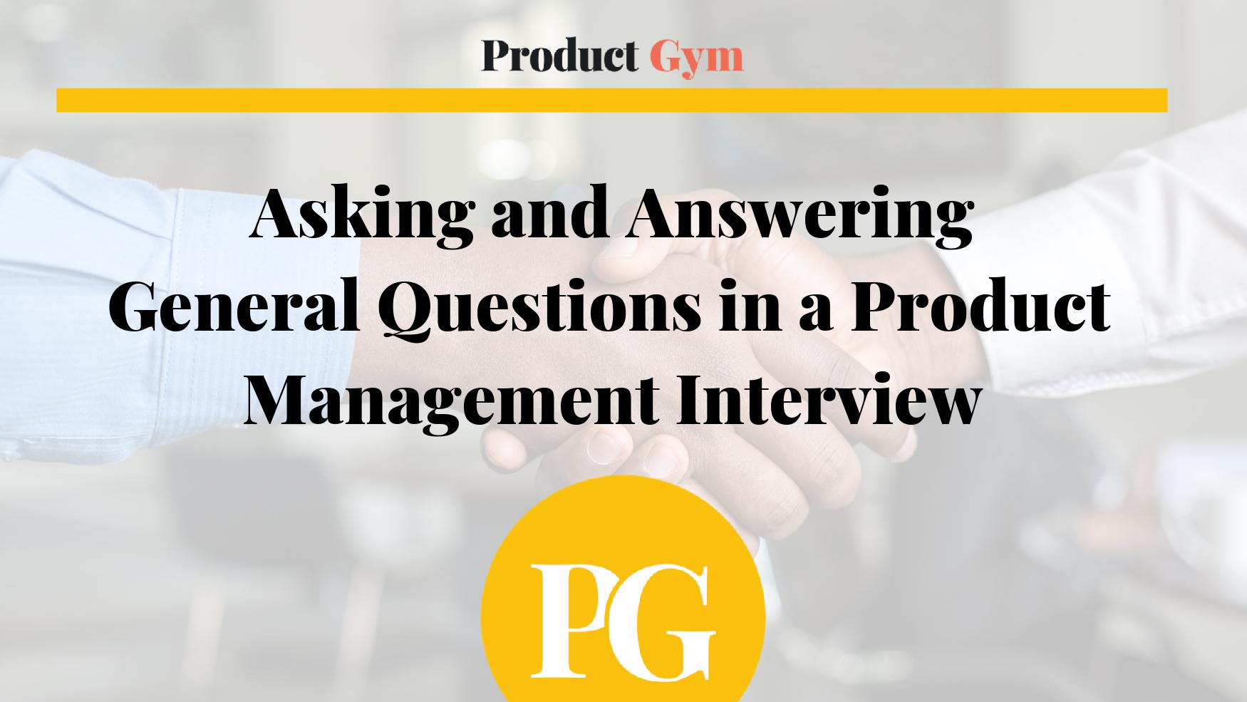 How to Win the Google Product Manager Interview ~ Product Gym