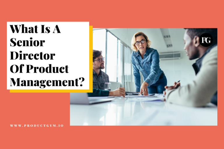 senior director of product management