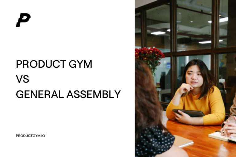 product gym vs general assembly