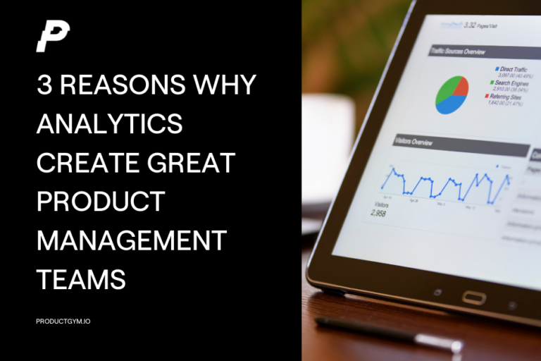 analytics and product management