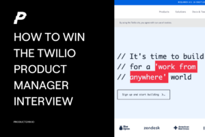 twilio product manager interview