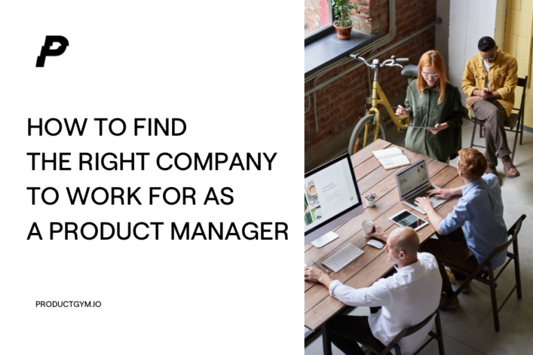 how to find the right company to work for