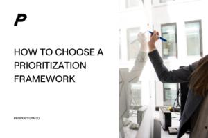 prioritization framework