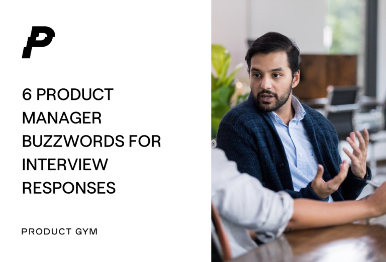 product manager buzzwords