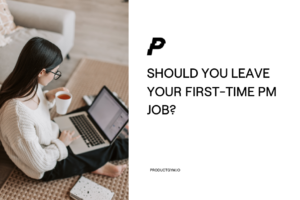 first-time product manager