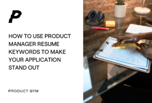 product manager resume keywords