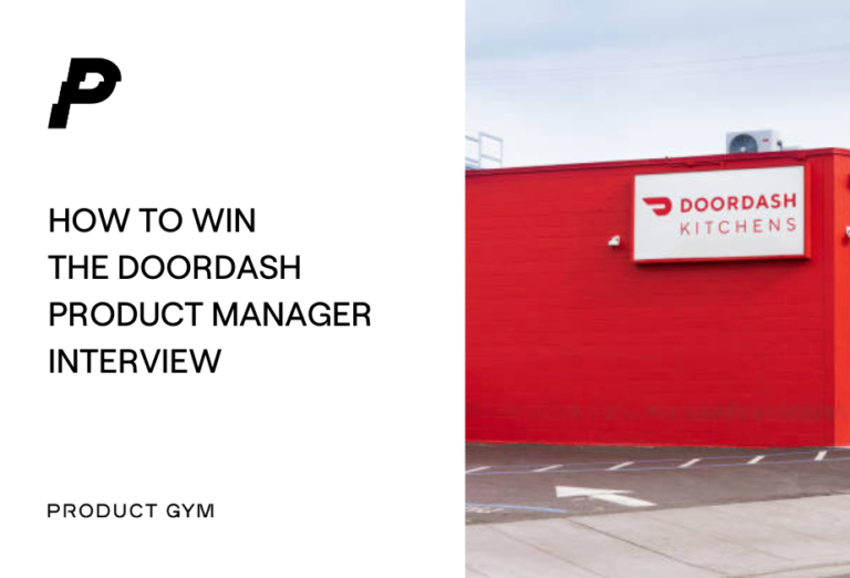 Doordash product manager