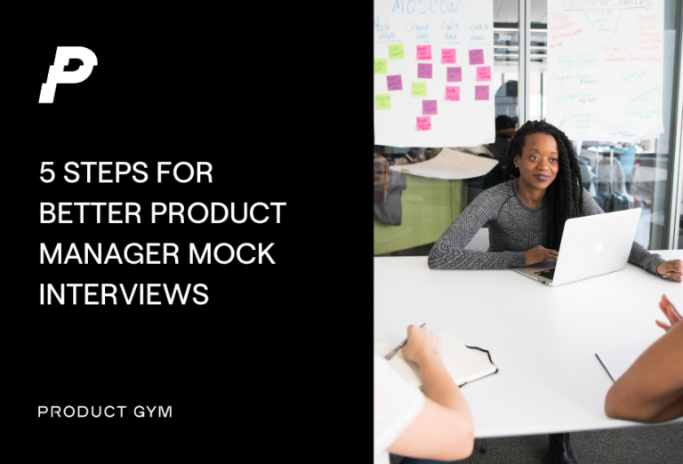 product manager mock interviews